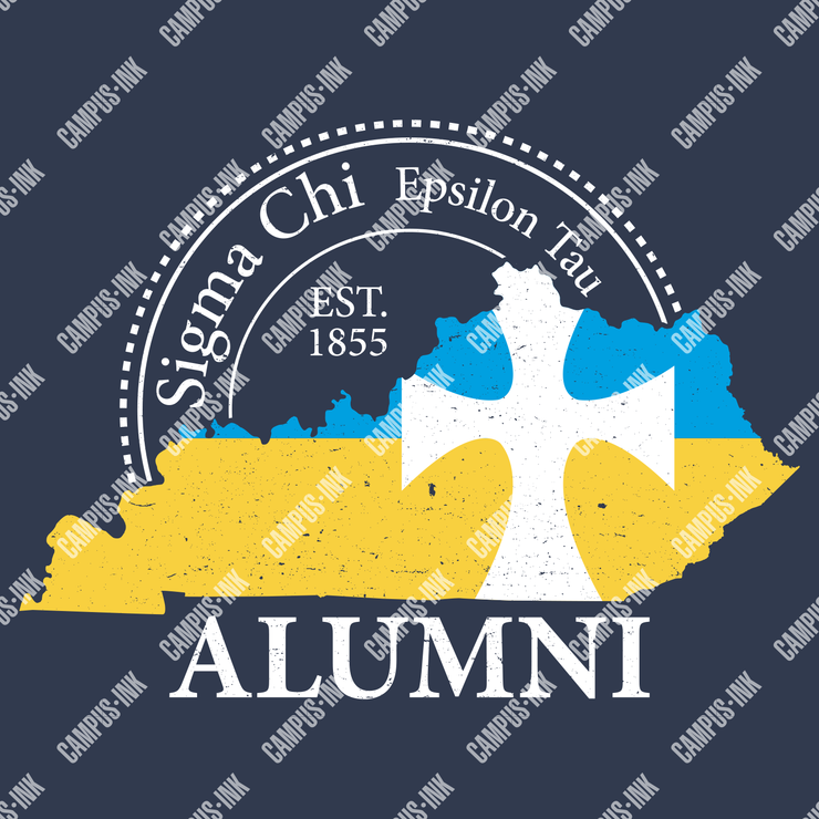 Sigma Chi State Outline Design - Sigma Chi Fraternity