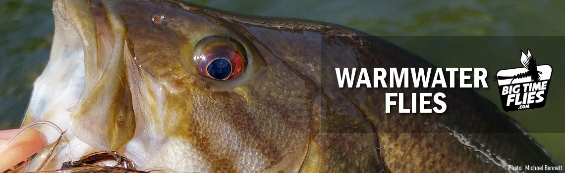 Warmwater Fly Fishing Flies for Largemouth and Smallmouth Bass, Pike, Musky, Panfish, and Carp - BigTimeFlies.com