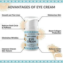 Load image into Gallery viewer, Anti-Aging Eye Cream (1.7 oz)