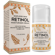 Load image into Gallery viewer, Retinol Moisturizer Cream 2.5% (1.7 oz)