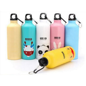 Portable Cartoon Water Bottles For The Family