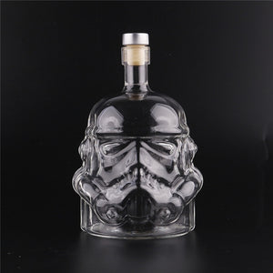 Star Wars Stormtrooper Glass Bottle