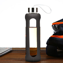 Load image into Gallery viewer, See-Thru Glass Sports Bottle