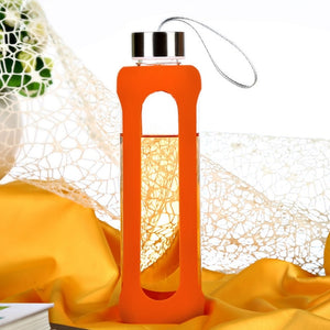 See-Thru Glass Sports Bottle