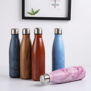 Stainless Steel Vacuum Insulated Cola Shaped Water Bottle