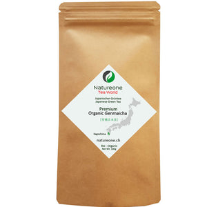 Premium Bio Genmaicha - Natureone Tea World