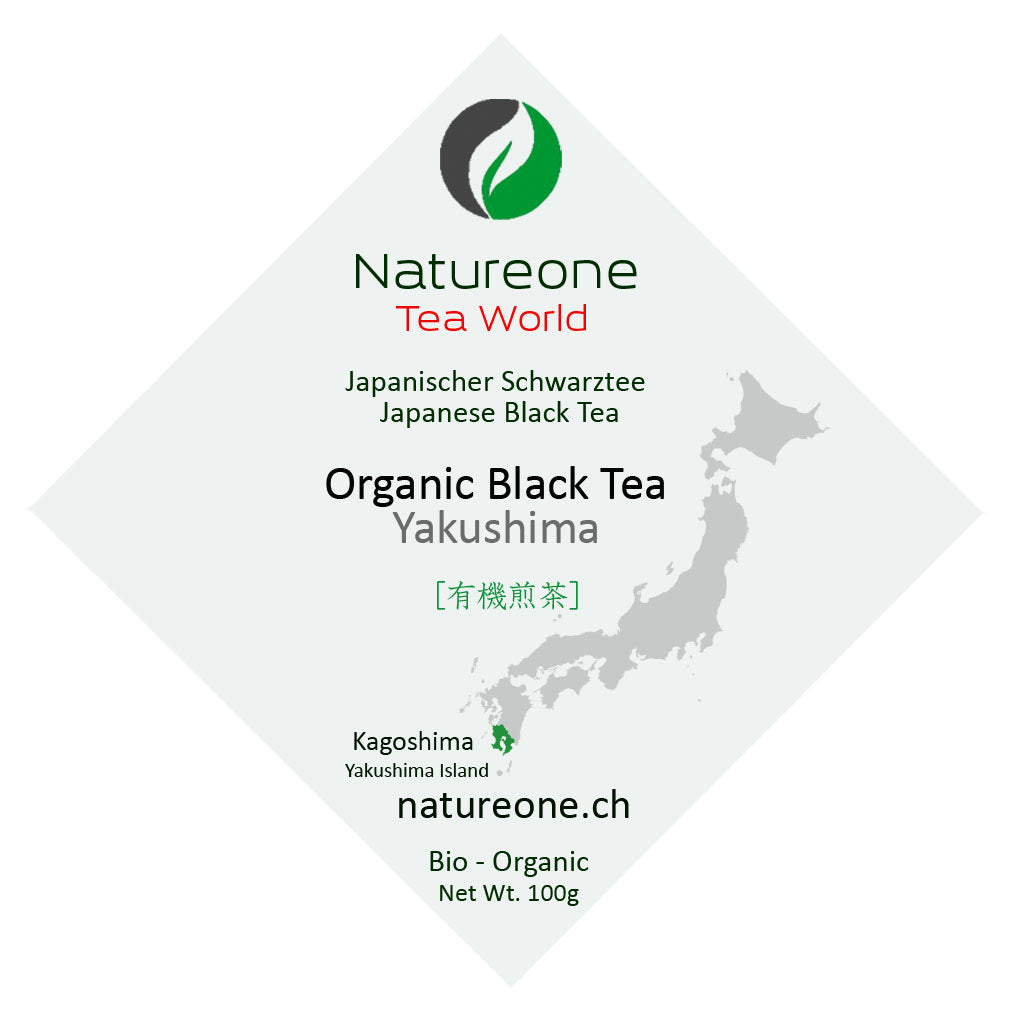 Premium Bio Schwarztee - Natureone Tea World