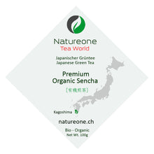 Laden Sie das Bild in den Galerie-Viewer, Premium Bio Sencha aus Kagoshima - Natureone Tea World