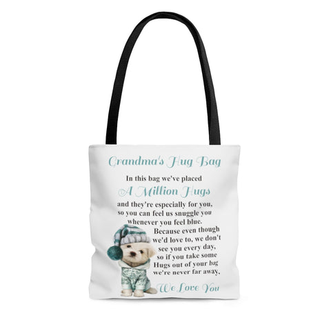Sleepy Dog Design Grandmother Hug Bag (Plural)