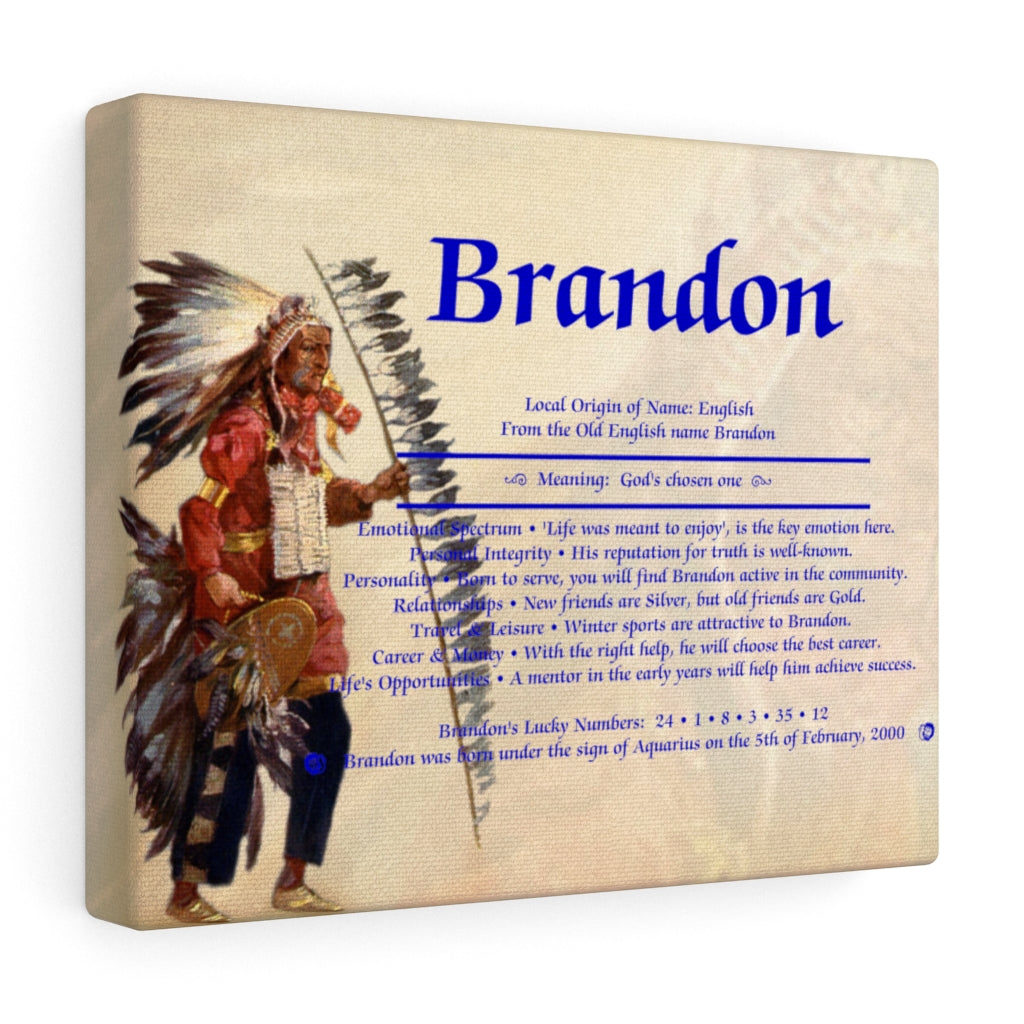 First Name Meaning - Native American
