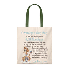 Dog, Cat, Bird Design Grandmother Hug Bag (Plural)