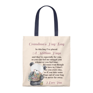 Panda & Flowers Design Grandmother Hug Bag (Singular)
