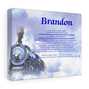 First Name Meaning - Steam Train