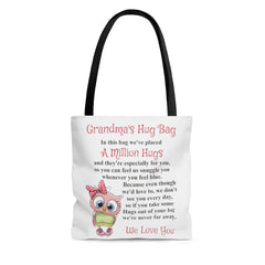 Owl Design Grandmother Hug Bag (Plural)