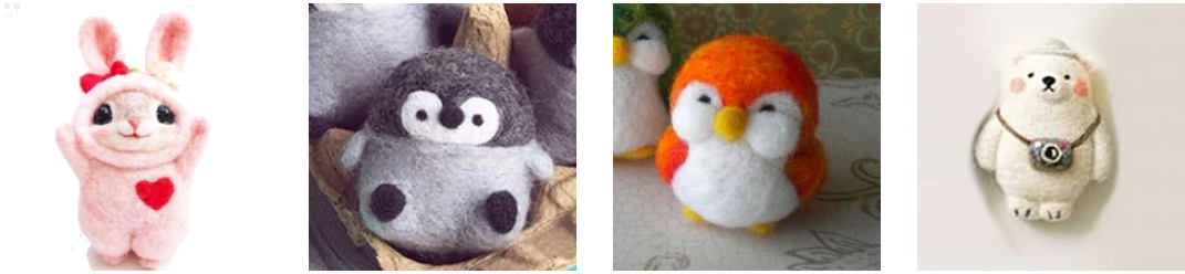 Felties - The Latest and Cutest Crafting Critter Craze