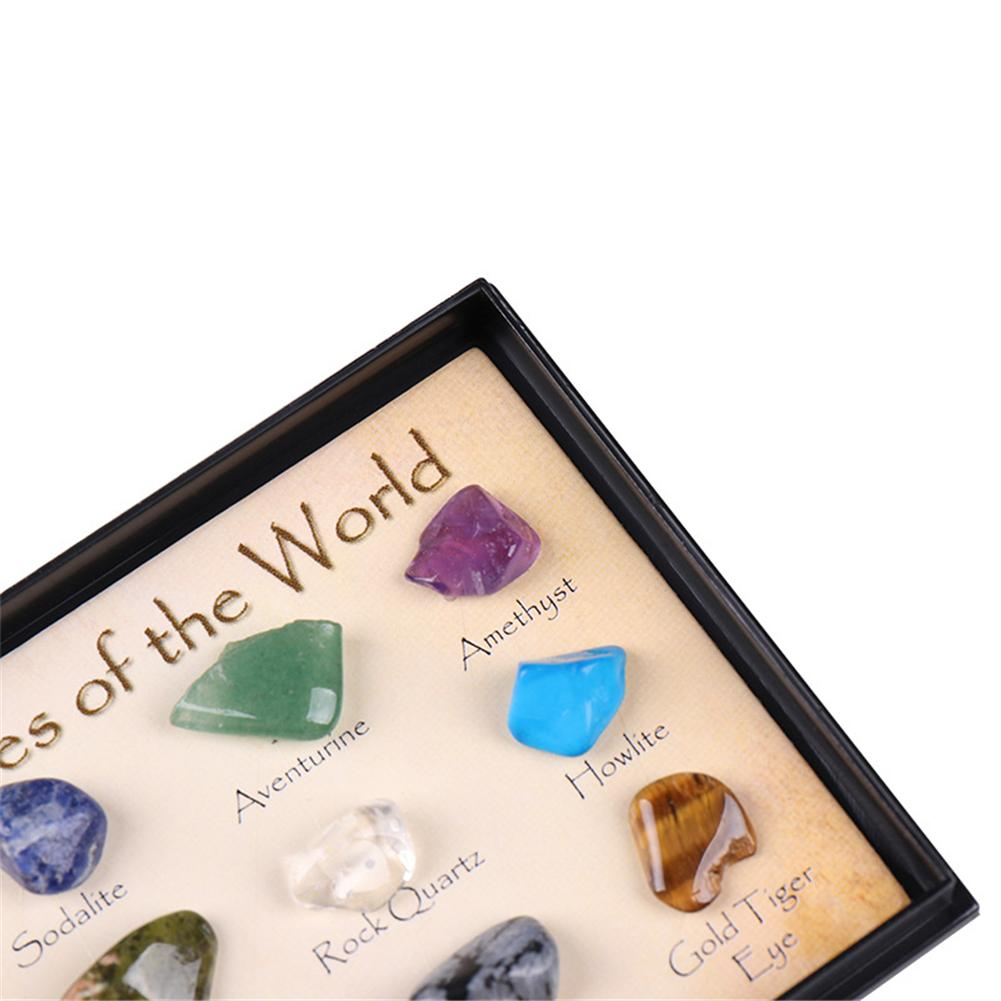 Healing Natural Crystal  Gift Stone Set