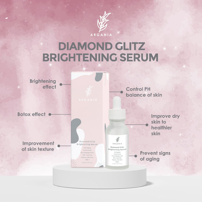 "Argania Brightening Serum ""Brighten+Firm'"