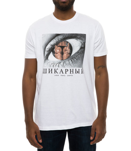 CLASSY MOTHER RUSSIA TEE WHITE