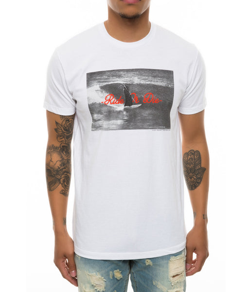 RIDE OR DIE TEE WHITE
