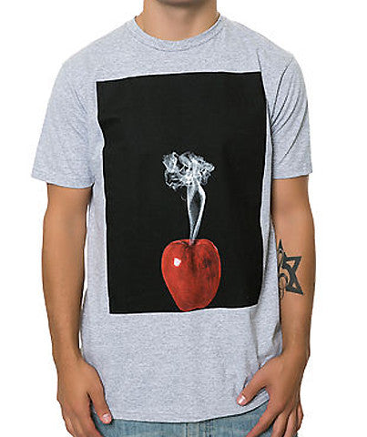 SMOKING APPLE TEE HEATHER