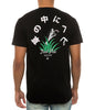 SNAKES IN THE GRASS TEE BLACK