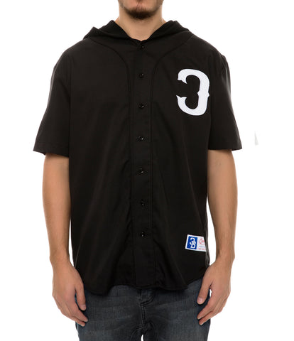 SLUGGERS 28 HOODED JERSEY BLACK