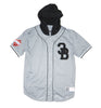 CB BET YOUR LIFE HOODED JERSEY GREY