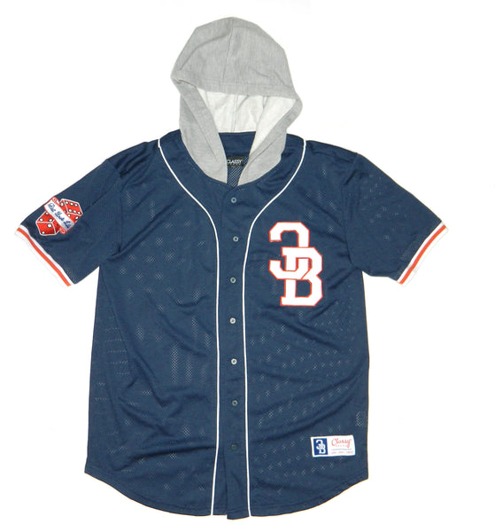 CB BET YOUR LIFE HOODED JERSEY NAVY