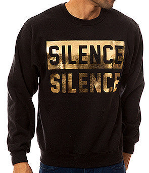 SILENCE IS GOLDEN CREW BLACK