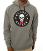 SKULLY HOODIE HEATHER GREY