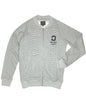 The Reptile Knit Bomber Jacket Heather Grey