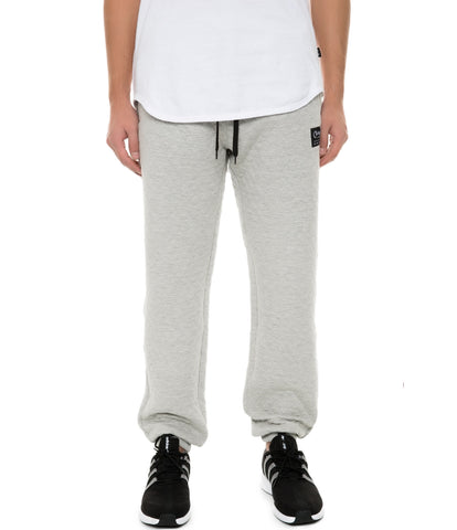 CB QUILTED JOGGER HEATHER GREY