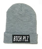 BTCH PLZ HEATHER BEANIE