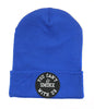 YOU CAN'T SMOKE WITH US BLUE BEANIE