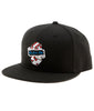 BET YOUR LIFE SNAPBACK HAT BLACK