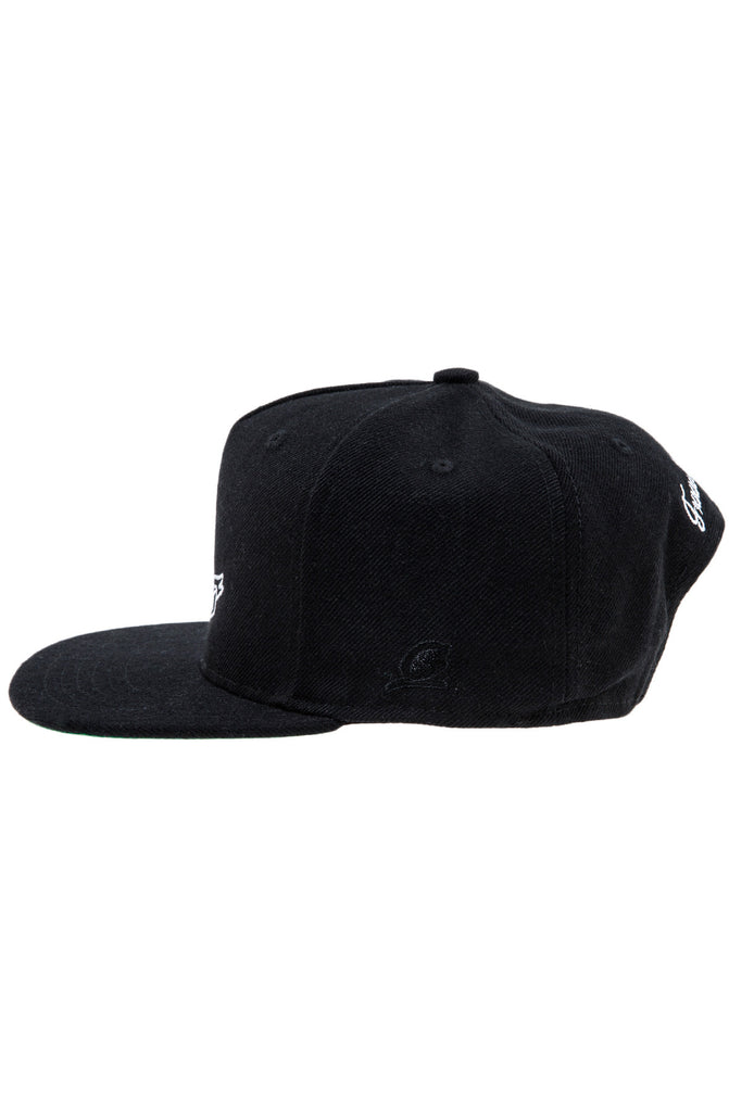 6a40d653 FUCK YOU PAY ME SNAPBACK HAT BLACK