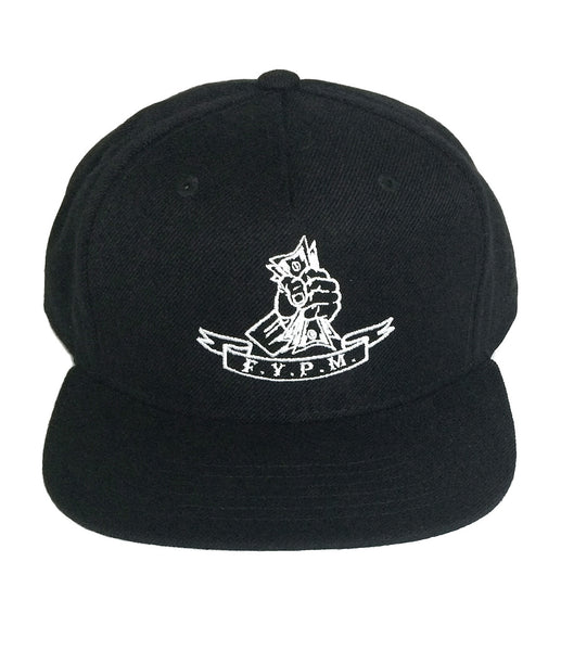 FUCK YOU PAY ME SNAPBACK HAT BLACK