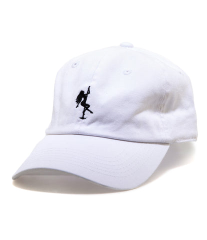 POLE SPORT STRAPBACK HAT WHITE