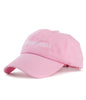 SMOKING SKILLS STRAPBACK HAT PINK