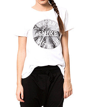 YOU CAN'T SMOKE WITH US TEE