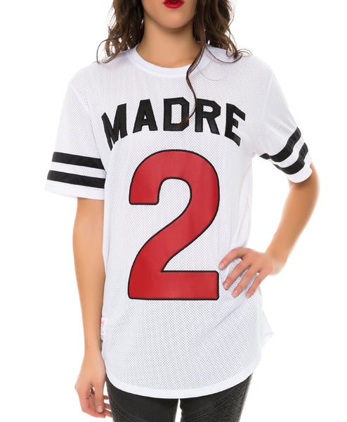 2 MADRE MESH JERSEY WHITE