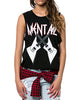 MENTAL MUSCLE TEE BLACK
