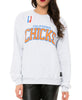 CALI CHICKS SWEATSHIRT LIGHT HEATHER