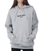 MALIBU EMBROIDERED HOODIE HEATHER GREY