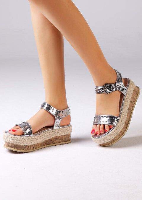 Summer Ankle Strap Buckle Sandals