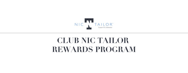 CLUB NIC TAILOR REWARDS PROGRAM