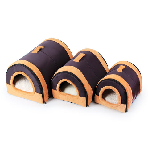 Beds Mats Dog house cat roller mats Removable tunnel dome