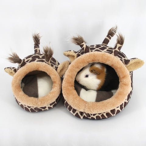 Hamster House Cage Squirrel Small Cat Dog Bed