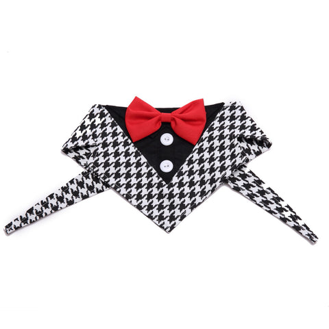 Dog Neckties Collar Puppy Adjustable Suit Collar Tie