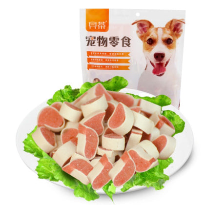 Cat dog food chicken squid sushi grain 400g cat food training